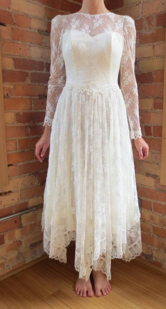 Jessica mcclintock wedding dress size 8 xs s for Jessica mcclintock wedding dresses outlet