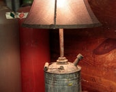 Handmade Upcycled Gas Can Lamp. - EclecticElectrics
