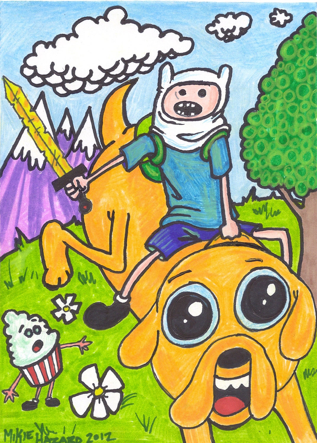 Adventure Time Art for your Tastes