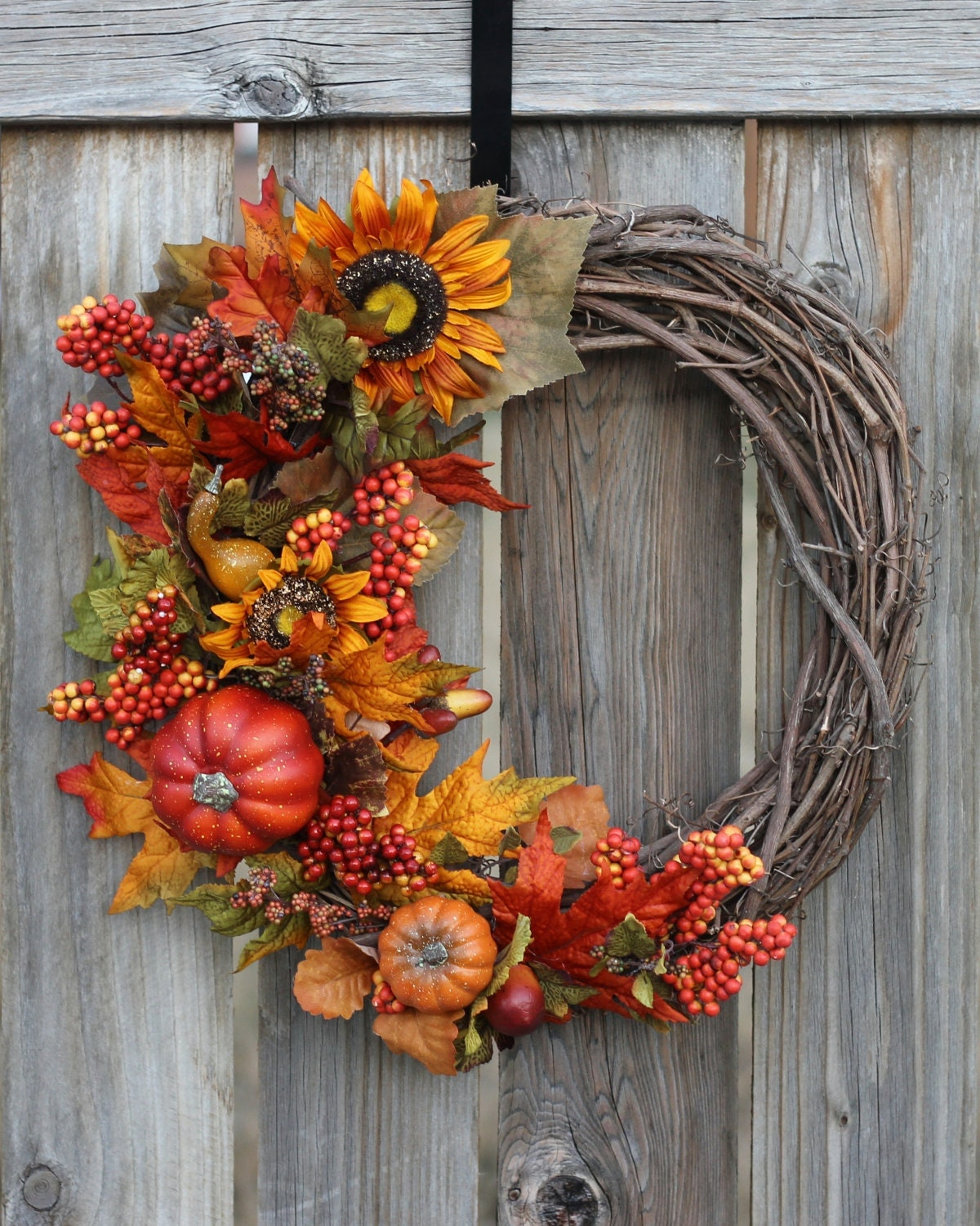 Fall wreath fall decor front door wreaths seasonal Fall autumn door wreaths
