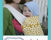 Mei Tai Baby Carrier: Reversible, Hood and Removable Slip Cover, Carry Tote, Nursery, Newborn, Infant, Toddler