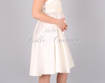 Custom Made & Handmade - Maternity Dress / Wedding dress for pregnant women item: Émile