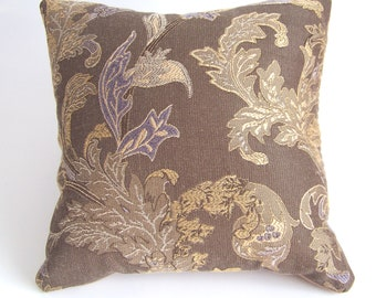 Cocoa Brown Accent Pillow