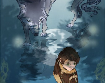 Ayra Stark From Game of Thrones Poster