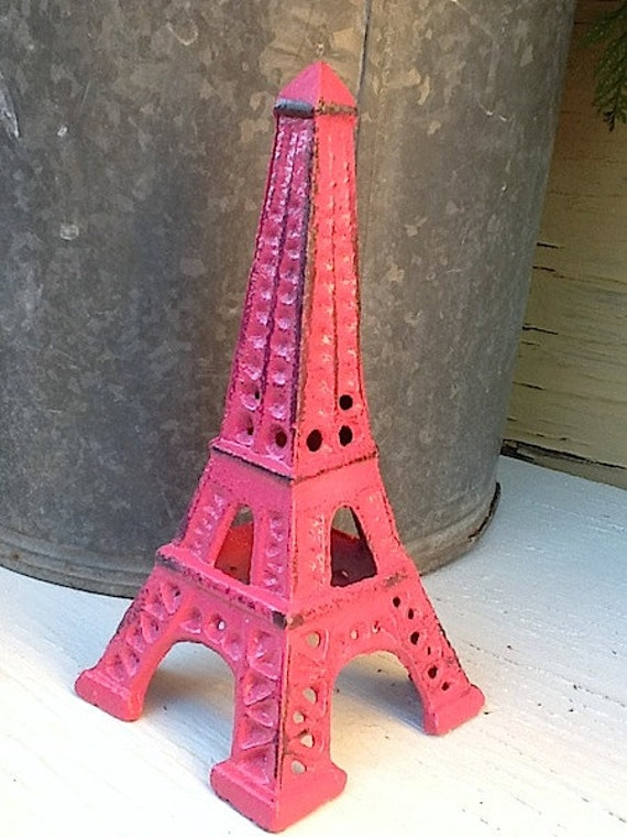 items similar to eiffel tower shabby chic french pink 15213 | il 570xn 398774432 haqz