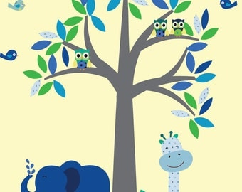 Tree Wall Decal A101