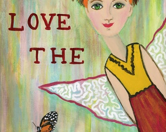 Love the Journey is an Inspirational print that lifts our hearts