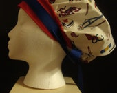 Vintage Nurse Bouffant Surgical Scrub Hat