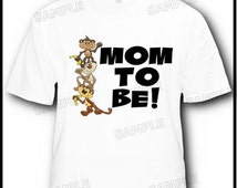 Soon to be Mom Mommy T-Shirt Adult -- More Designs Inside --