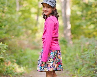 toddler girls skirts . . .  Ready to Ship Polka Dots skirt 2 T - 9 Y Boutique Childrens Clothing