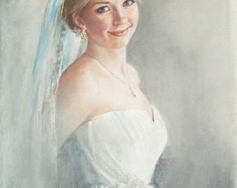 SAMPLE Pastel Bridal Portrait, Becky