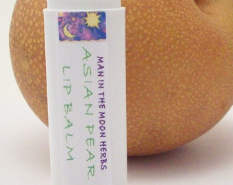 Asian Pear Lip Balm -  Natural and Organic Ingredients