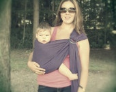 Cotton Gauze Baby Ring Sling Carrier - MANY COLORS AVAILABLE