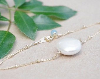 Pearl Coin Bracelet, Coin Pearl Bracelet, Gift for Bridesmaids, Bridal Wedding Jewelry, Bridesmaid Gift, Pearl Jewelry, Coin Bracelet