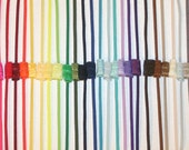 Skinny Headbands - CHOOSE 12 - 1/8 Inch Elastic  Lots of Colors Newborn Infant Toddler Teen Adult