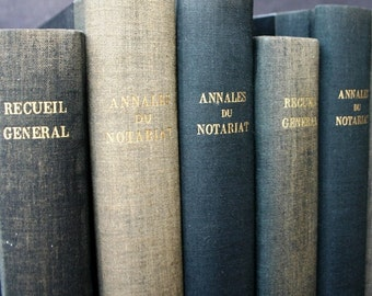 Antique rescued notarial records book.