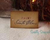 From Santa Claus, Christmas Gift Tags