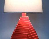 RESERVED for Jen & Danimal - Coral Table Lamp - Vintage Redesigned