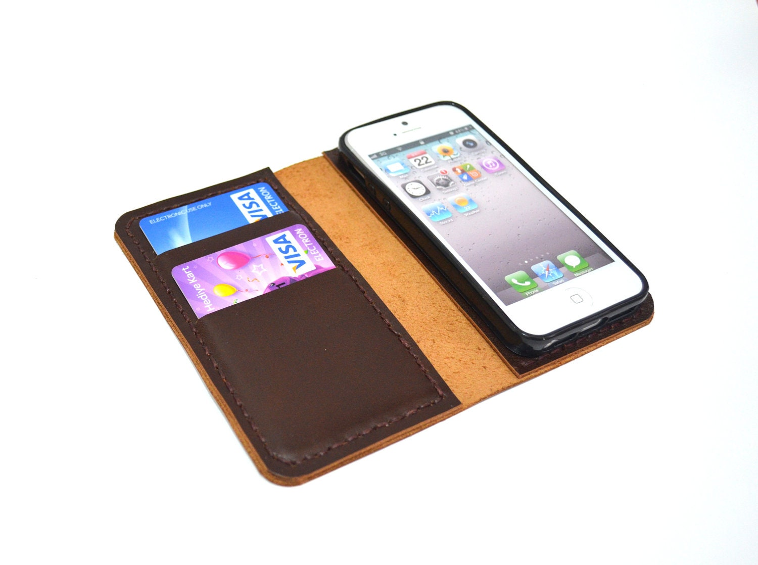 Leather Iphone 6 Wallet For Men Leather Iphone 5 Wallet Case