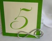 Wedding & Anniversary Decor, Table Name Holders, Infinity Theme, 2