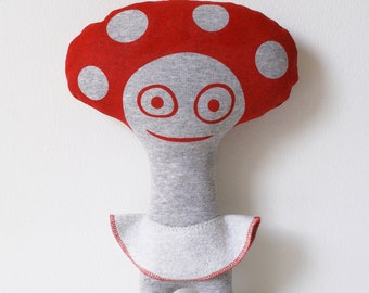 Miss Mushroom Soft Toy