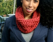 the folwell - crochet chunky wool cowl - choose the color - free US shipping