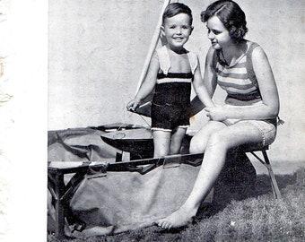 Vintage Patterns Children Knitting Crochet Minerva 40s