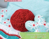 Bedding crochet pattern for making a chevron star pillow and chevron throw for 18 inch dolls like American Girl - INSTANT DOWNLOAD.