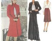 Edith Head Jacket, Blouse & Skirt Pattern Vogue American Designer 2561 Size 12 Uncut