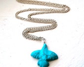 Turquoise Eagle Fetish Necklace