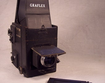 Graflex Plate Camera RB Revolving Back Series B SLR Early