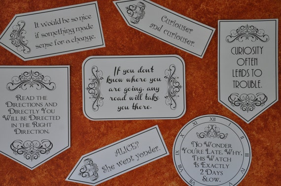 alice in wonderland tea party quotes 2010