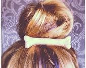 White Bone Hair Clip