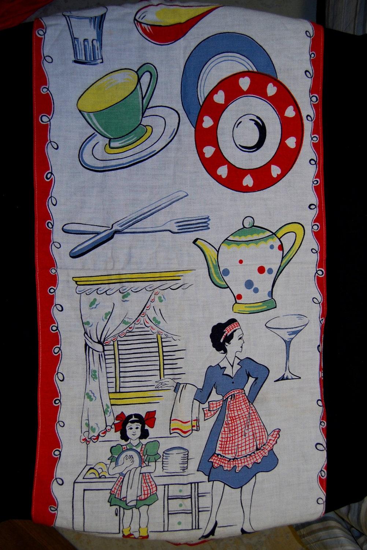 Vintage Kitchen Towel On Sale Now