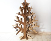 Recycled cardboard christmas tree M size home decoration