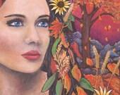Autumn Fall Goddess Fores...