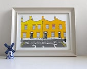 Southwark Row - Print / Wall Art / Illustration