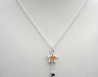 Astronaut in Space Spaceman Jewelry Necklace Pendant Handmade Jewelry USA