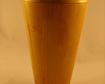 Segmented Cremation Urn in Alder