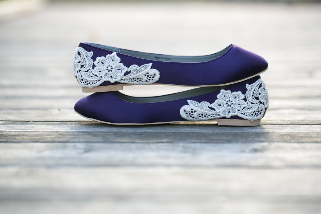 Wedding Flats Purple Wedding Shoes/Purple Wedding Flats