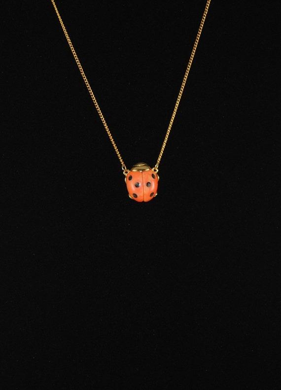 Gold ladybugs