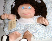 Kathy is a 14 Inch Soft Sculpture Doll with Long Braids -Sarah Originals Dolls