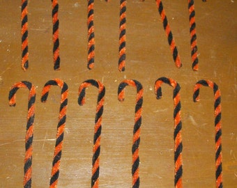 Halloween Candy Canes