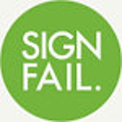 FailedSigns