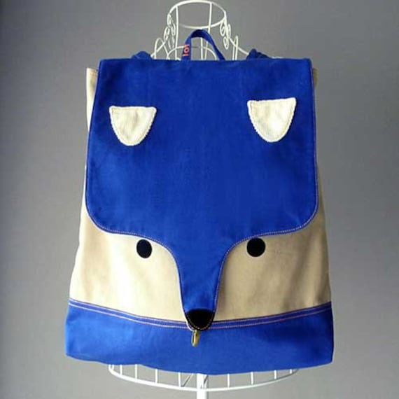 Backpack - The Fantastic Fox UNISEX BackPack (Royal Fawn) *4 WEEKS TURNAROUND