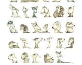 Signed, Limited Edition Giclee Print - Scribbly Dogs
