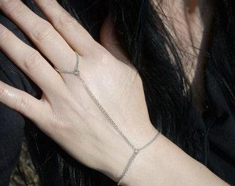 SALE! Slave Bracelet Chain Simple Elegance Bracelet Silver Tone