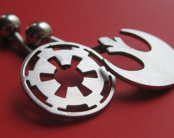 Star Wars Rebel or Imperial Belly Ring