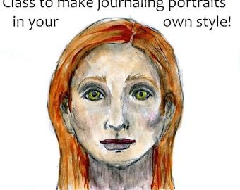 Painting class Portrait tutorials Basic online workshop tutorial