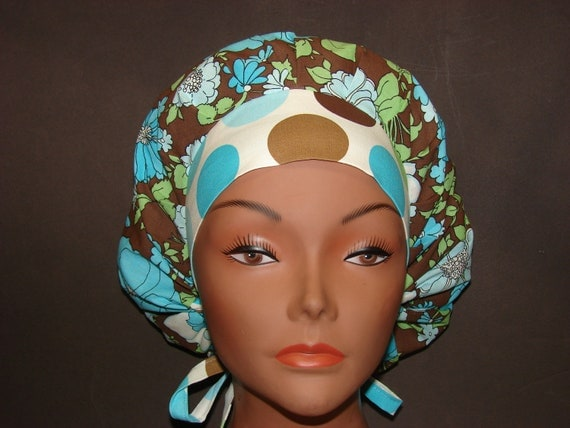 New Women  Angelica Medical Surgical Bouffant Scrub Hat/Cap